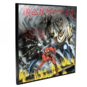 Iron Maiden - Number Of The Beast Crystal Clear Pictures Wall Art