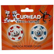 Cuphead Devil's Casino Replica Poker Chip Coins