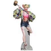 Birds of Prey Harley Quinn with Mallet Oversized Cardboard Cut Out