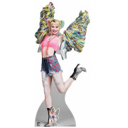 Birds of Prey Harley Quinn Happy Butterfly Oversized Cardboard Cut Out