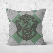 Harry Potter Slytherin Square Cushion - 50x50cm - Soft Touch