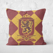 Harry Potter Gryffindor Square Cushion - 50x50cm - Soft Touch