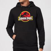 Jurassic Park Logo Hoodie - Black