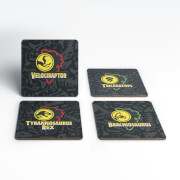 Jurassic Park Paddocks Coaster Set