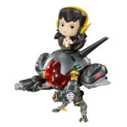 Overwatch Cute But Figurine Deadly D.Va et Meka,  Édition Carbon