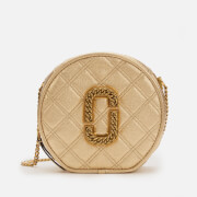 Marc Jacobs Women's The Status Round Metalic Bag - Gold