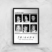 Friends Class Of 2004 Giclee Art Print