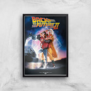 Back To The Future Part 2 Giclee Art Print