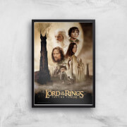 Lord Of The Rings: The Two Towers Giclee Art Print