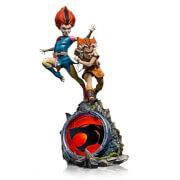 Iron Studios Thundercats BDS Art Scale Statue 1/10 WilyKit & WilyKat Deluxe 22 cm