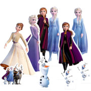 Frozen 2 Table Toppers Cardboard Cut Out Pack