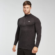 MP Performance 1/4 Zip - Black/Carbon