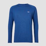 T-Shirt À Manches Longues Mp Performance - Noir & Bleu