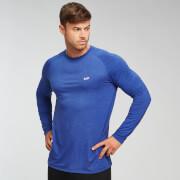 T-Shirt À Manches Longues Mp Performance - Noir & Bleu - XXL