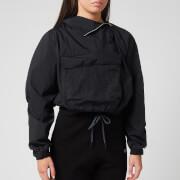 Reebok X Victoria Beckham Women's Woven Crew Jacket - Black - XS