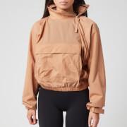 Reebok X Victoria Beckham Women's Woven Crew Jacket - Beige Stone - M