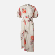 Preen By Thornton Bregazzi Women's Bianca Midi Dress - Furano Flower Fields - XS