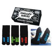Cockney Spaniel 'Sweary Socks' Sock Gift Set