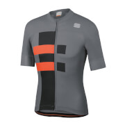 Sportful Bold Jersey - XL - Cement/Orange SDR