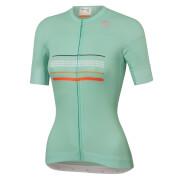 Sportful Women's Diva Jersey - S - Acqua Green