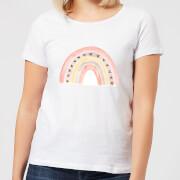 Rainbow Womens T-Shirt - White - XL - White