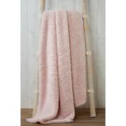 Rapport Teddy Throw - Pink - 130 x 180cm