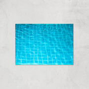 Pool Ripples Giclee Art Print   A4   Print Only