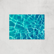 Light Reflecting Pool Giclee Art Print   A4   Print Only