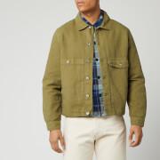 ymc men's pinkley jacket - olive - m