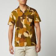 ymc men's malick shirt - camo - s
