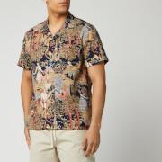 ymc men's malick shirt - hawaiian - s