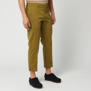 ymc men's hand me down trousers - olive - w30