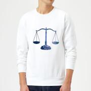 Libra Sweatshirt - White - XXL - White