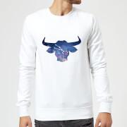 Taurus Sweatshirt - White - XXL - White