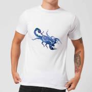 Scorpio Mens T-Shirt - White - L - White