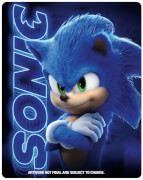 Sonic The Hedgehog - Zavvi Exclusive 4K Ultra HD Steelbook (Includes 2D Blu-ray)
