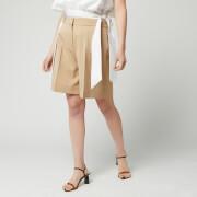 Victoria, Victoria Beckham Women's Tailored Shorts - Camel - UK 8