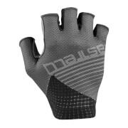 castelli competizione gloves - l - dark gray