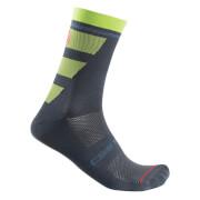 castelli trofeo 15 socks - s/m - dark steel blue