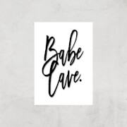 babe cave giclee art print - a4 - print only