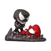 Figura Funko Pop! Comic Moment EXC PX - Spider-Man vs Venom Pop! - Marvel