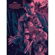 Stranger Things Screenprint Art by Nos4a2