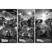 Back To The Future Screenprint Art Set by Ben Harman