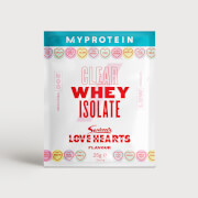 Myprotein Clear Whey Isolate Swizzels Edition (Sample) - Love Hearts