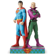 DC Comics by Jim Shore Superman™ vs Lex Luther Figurine 21.5cm