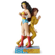 DC Comics by Jim Shore Wonder Woman™ vs Cheetah Figurine 21.5cm