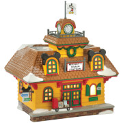 Disney Village Mickey's Holiday Train Station - UK Adaptor 18.5cm