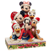 Disney Traditions Christmas Mickey and Friends Figurine 18cm