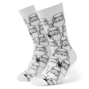 Men's Storm Trooper Repeat Socks - White