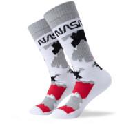 Men's NASA Camo Sports Socks - White
